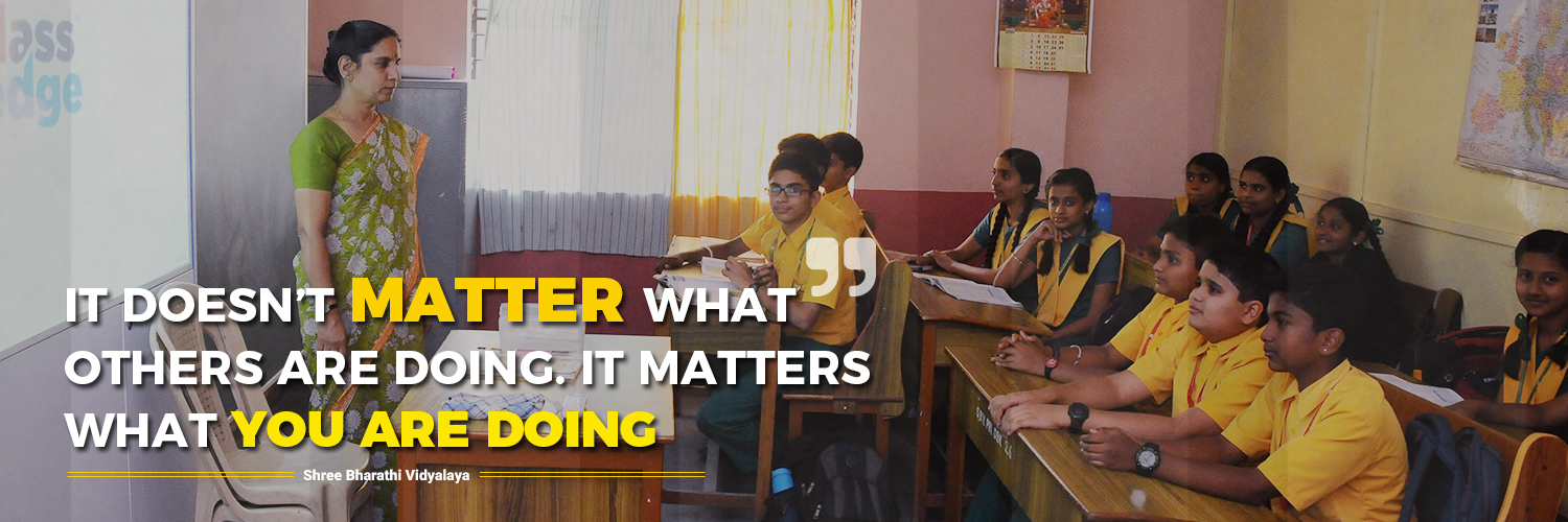 Shree Bharathi Vidyalaya - A School With a Difference